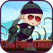 Saitama Ninja Punch Hero by Brooke Milne