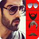 Man Hair & Beard Style Photo Editor with Shades by Insha Apps Studio