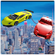Flying Chained Cars 3D by microclip