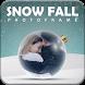 Snowfall Photo Frame
