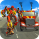 Euro Truck Robot Game Transforming Robot Simulator by White Sand - 3D Games Studio