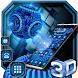 3D Digital World Tech Theme by 3dthemecoollauncher
