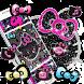 Kitty Black Diamond Bowknot Sweet Princess Theme by Lele Theme Studio