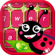 Cute Ladybug Keyboard Theme by Free Photo Montage Apps