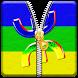 Amazigh Zipper Ecran by Devtiha LLC