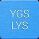 YGS ve LYS Puan Hesapla by Ergün Erdoğmuş