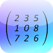 Matrix Determinant Calculator by GK Apps