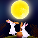 Moon and Rabbit by DMF, Inc.