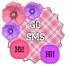 GO SMS THEME - SCS407 by SCSCreations