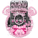 Pink Black Diamond Minny Theme by Best Cool Theme Dreamer