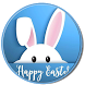 Easter Cute Bunny Keyboard