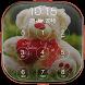 Teddy Bear Passcode Lockscreen by Secure Lockscreen Apps