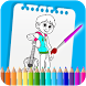 How To Color Coco Coloring Book For Adult by RickTorini