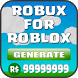 Robux For Roblox Cheats Prank by Zeca App