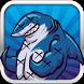 The pink Fish vs shark! Run by salmahelmy