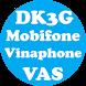 DK3G - Đăng ký 3G cho Mobile
