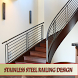 Stainless steel railing design by kampung kucrit