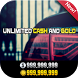 Unlimited Cash & Gold for CSR2 Prank Tool by TmRta