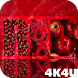 4K Red Colored Stylish Video Live Wallpaper by 4K4U