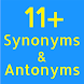 11+ Synonyms and Antonyms by Munkfish Games LTD