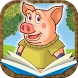 Tale of The Three Little Pigs by Classic fairy tales Interactive book for kids