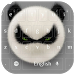 Angry Panda Typewriter by live wallpaper collection