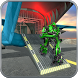 Airplane Flying Robot Car Transporter by Real Games Studio - 3D World