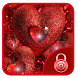 red heart love shining theme by Free new hot colorful themes