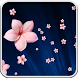Pink Flowers Live Wallpaper by Just Wallpapers