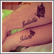 Artistic Name Tattoo Design by elgendroid
