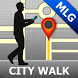 Malaga Map and Walks by GPSmyCity.com, Inc.