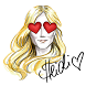 Heidi Klum Emojis by Snaps Media, Inc.