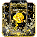 Luxury Black Gold Roses Theme by Best Cool Theme Dreamer