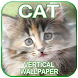 Vertical Cat Wallpaper 2017 by TheSmallApperz