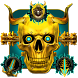 Golden Skull Legend Theme by Launcher Fantasy