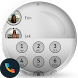 Shade Gray Phone Dialer Theme by Themes Messages Contacts Dialer by Double L