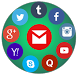 Social Media All In One by Cognate Apps