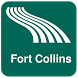 Fort Collins Map offline by iniCall.com