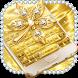 Gold Rasta keyboard by Keyboard Design Paradise