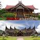 rumah adat indonesia by brelendhen