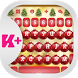 Merry Christmas Keyboard by Android Themes 6