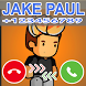 Fake Phone Call From Jake Paul Prank by Delidev