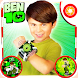 Ben Hero 10 Photo Stickers by Mezick Mobile Apps