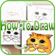 how to draw - easy lessons by LightspeedApps