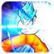 Goku Blue Super Saiyan by NTH Studio Fight