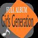Girls generation Full Songs Lyrics Collection