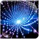 Blue Neon Spider Equalize LWP by Ping Me