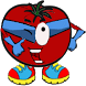 Vegetarian Wars.Captain Tomato by Poptuum
