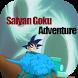 Saiyan Goku Adventure by SALAHEDDINE YEMLAHI