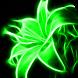 Neon Flowers Live Wallpaper
